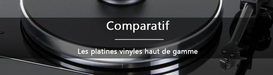 Comparatif: les platines vinyles haut de gamme