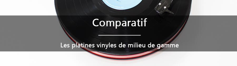 Comparatif: les platines vinyles milieu de gamme