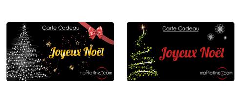 Les cartes cadeaux maplatine.com