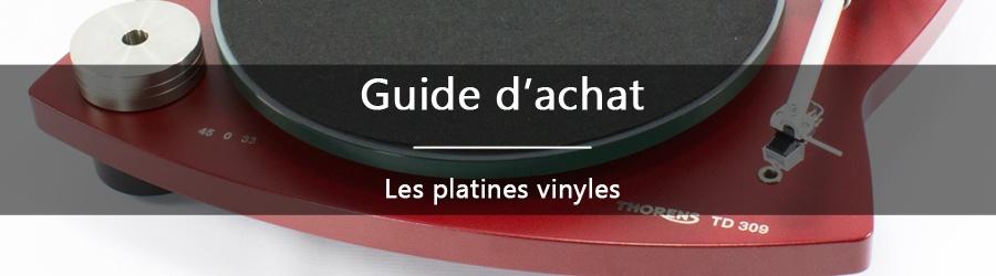 Guide d'achat : les platines vinyles