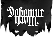 Logo Debemur Morti Productions
