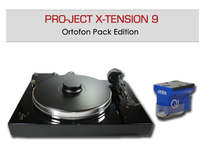 Platine vinyle Pro-Ject X-tension 9 avec la cellule Ortofon Quintet Blue