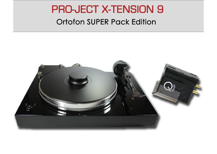 Platine vinyle manuelle Pro-Ject X-tension 9 - Ortofon Super Pack Edition