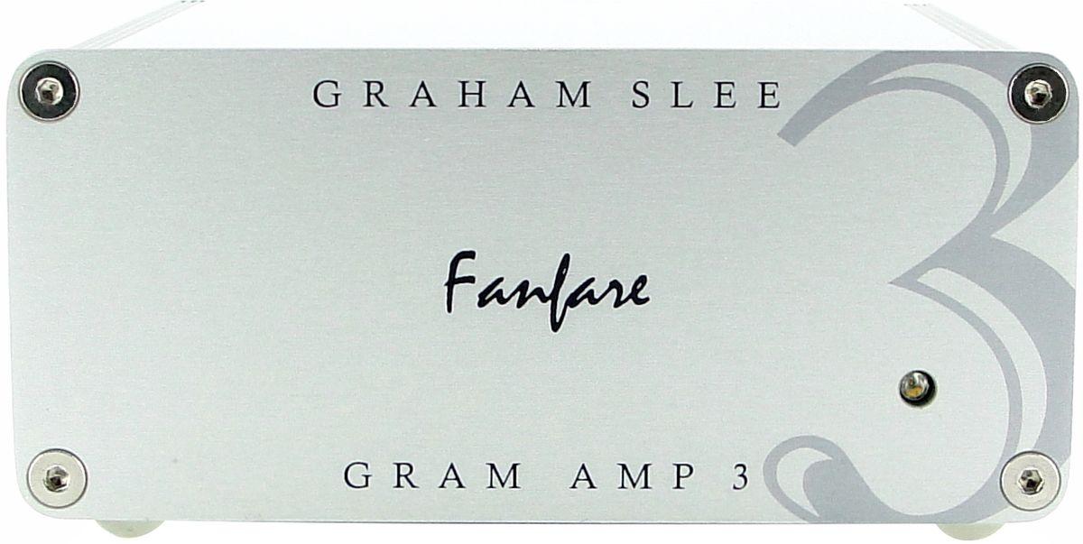 Découvrez le préampli phono Graham Slee Gram Amp3 Fanfare