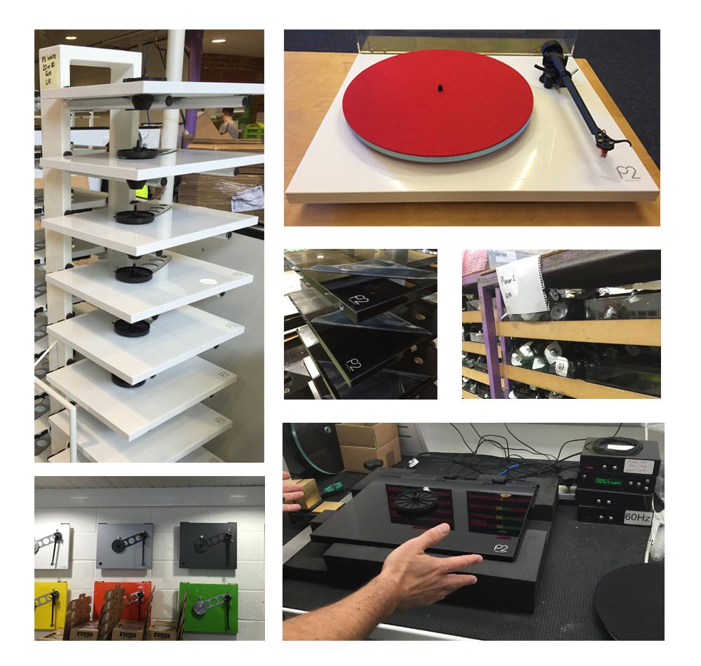 La fabrication des platines vinyles REGA