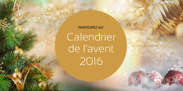 Take part to the Advent calendar 2016