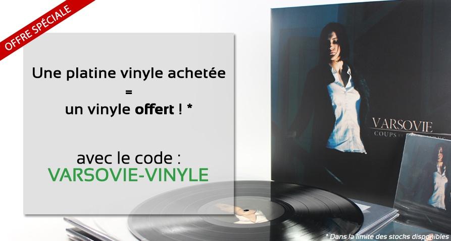 """Opération """"Une platine vinyle achetée, un disque vinyle offert"""""""