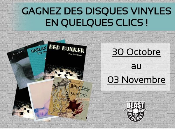 Jeu concours Facebook : gagnez des vinyles